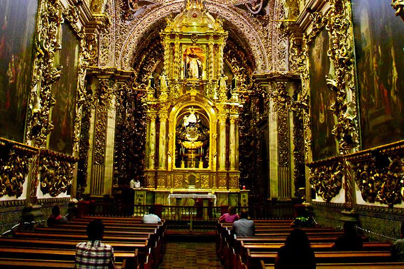 puebla capilla del rosario