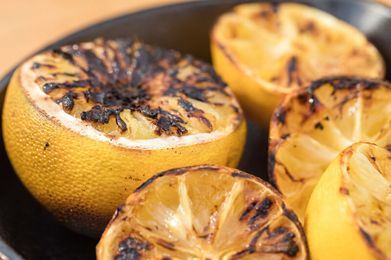 grilled citrons