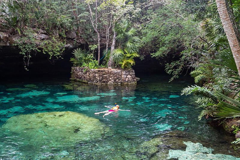 yucatan cenote snorkeling
