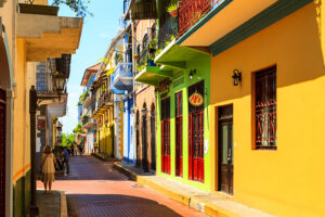 Panama City streets