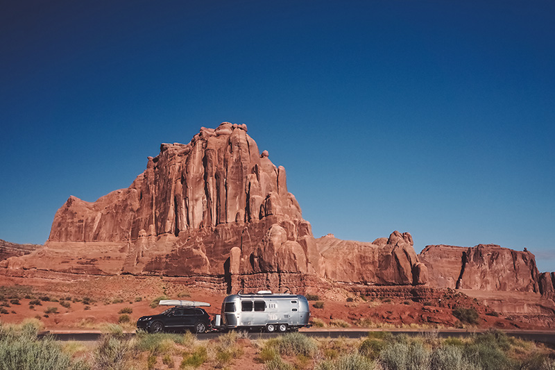 on the road again utah arches national park