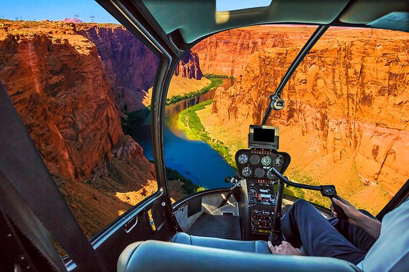 heli on grand canyon